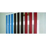 Штакетник двусторонний  0,5 мм RAL8017/8017 (шоколад) ширина 10 см