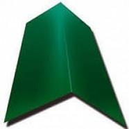 Конек 150*150*2000 мм. RAL6002 (зелёный лист)