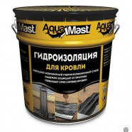 Мастика битумно-резиновая AquaMast 10кг (для кровли)