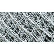 Забор из оцинкованной сетки-рабицы 950 руб.