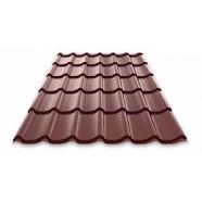 "Металлочерепица ""Монтеррей"" 0,4 RAL8017(шоколад)"