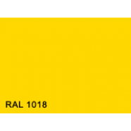 Гладкий лист  0,5  RAL1018(жёлтый)