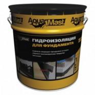 Мастика битумная AquaMast 10кг (для фундамента)